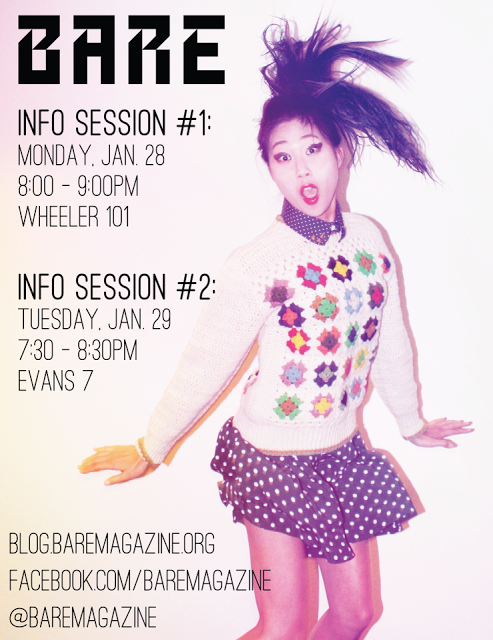 Join BARE for Spring 2013!