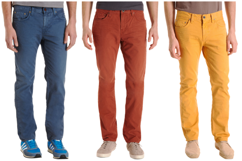Colored Jeans The Cure To Feeling Blue - BARE Magazine
