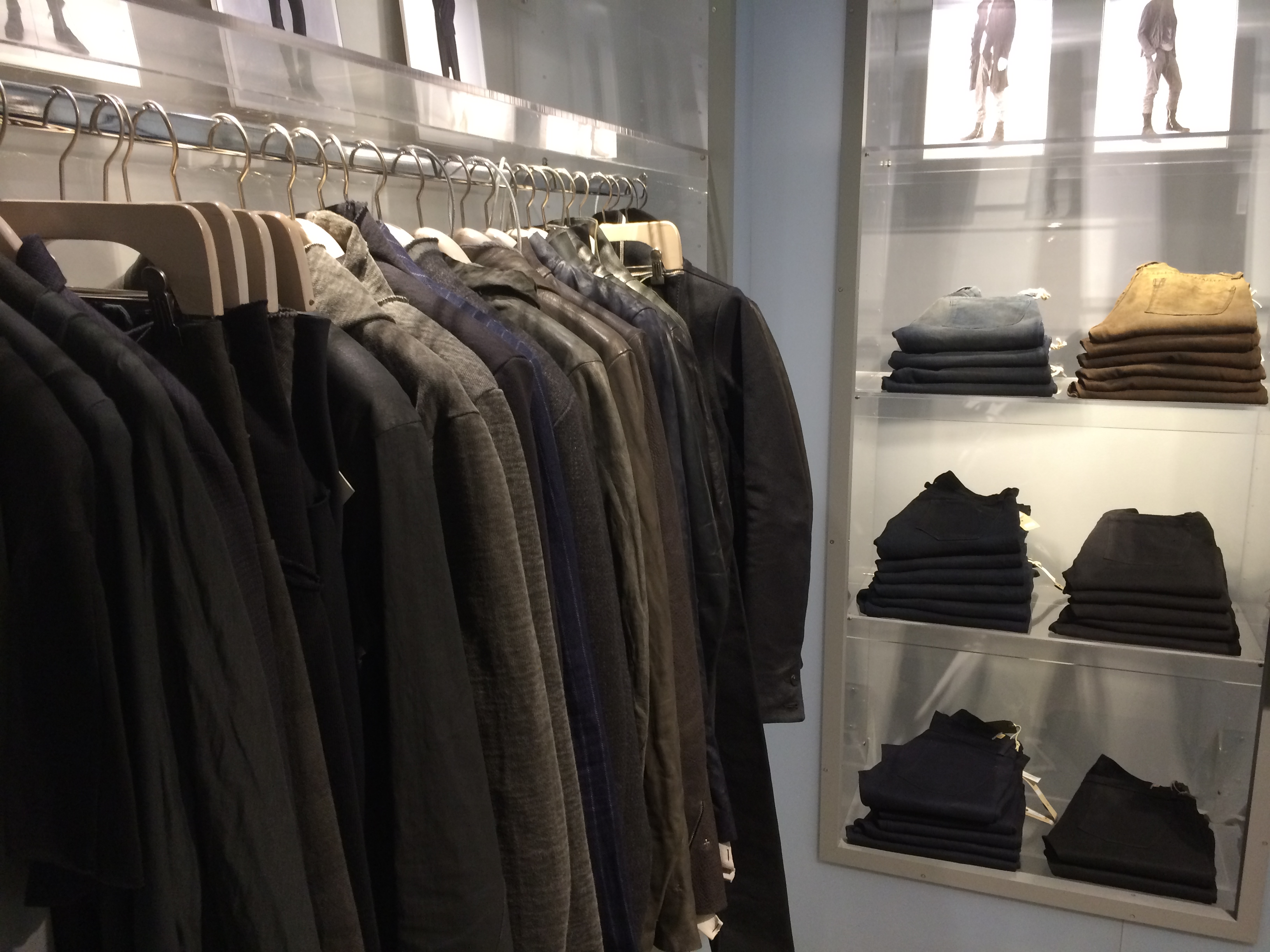 Select outerwear and denim