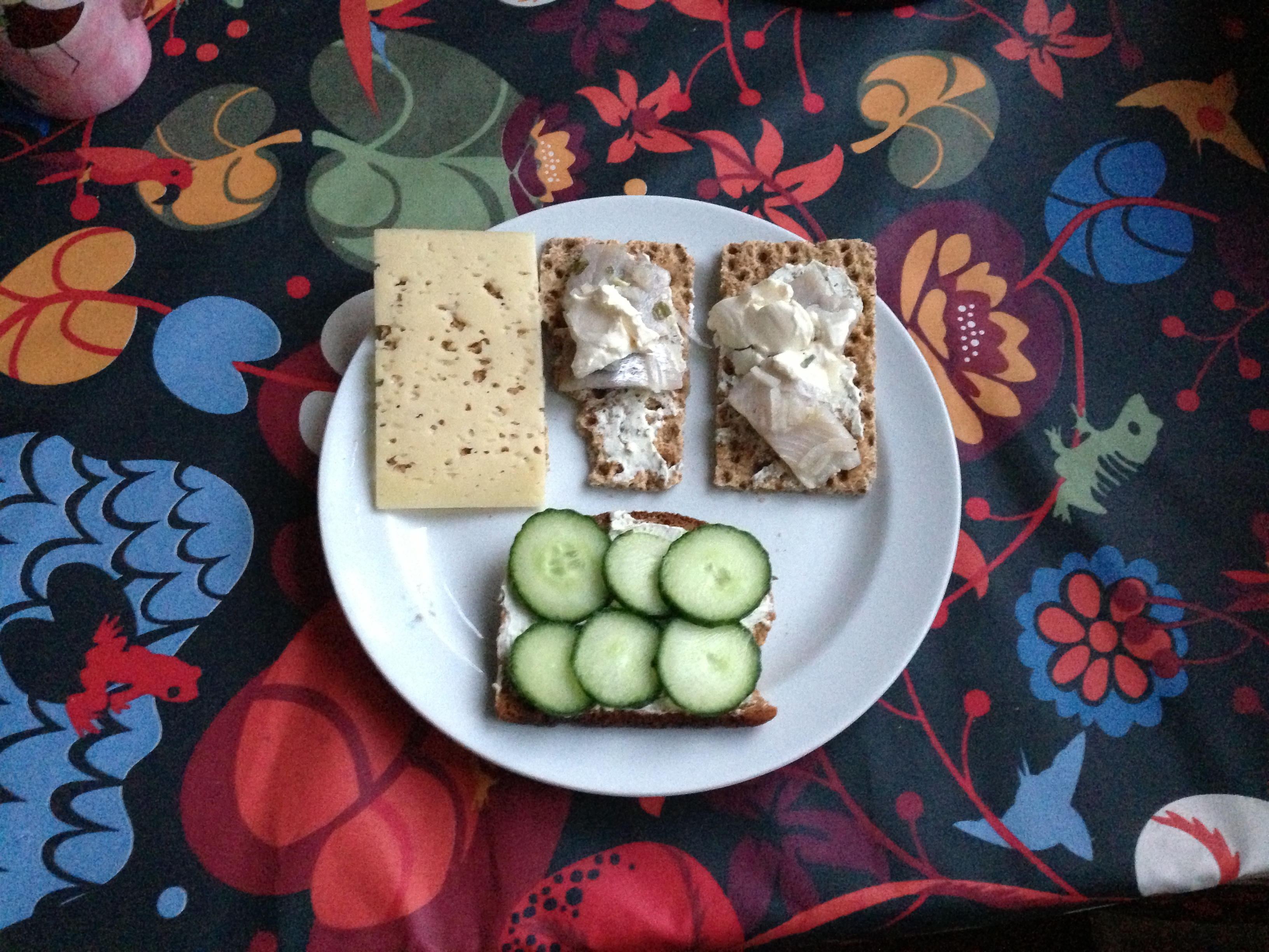 """Pickled herring, or """"sill"""", is a traditional midsummer's food and not for the faint of heart. Very fishy, very pickley, and very delicious."""
