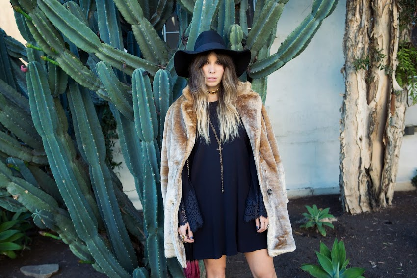 Fashion blogger Ashley Glorioso, otherwise known as Purse 'n Boots.