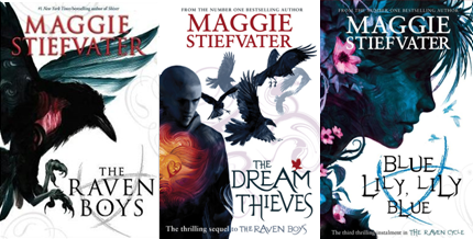 TL;DR: The Raven Cycle by Maggie Stiefvater